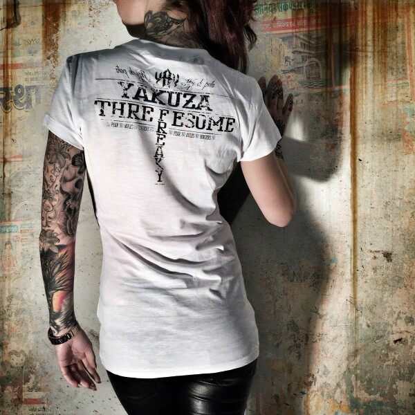 ad0f9c956e78 Yakuza Dámské tričko YK GSB7119 white - Original Store