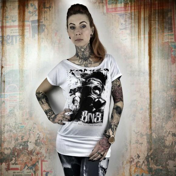 f0377714f81a Yakuza Dámské tričko YK GSB10109 white. Dámské tričko YK GSB10109 white