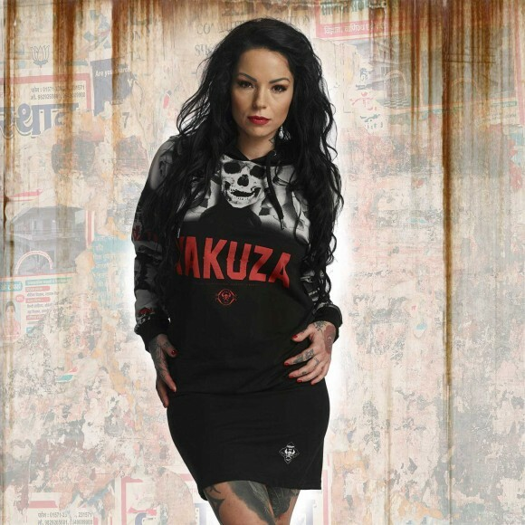 165457053e2d Yakuza Dámské šaty YK GKB11149 black - Original Store