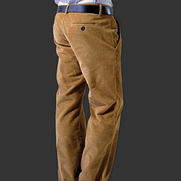 Thor Steinar Manšestrové kalhoty Breitenberg sand - Original Store 286d56ec49