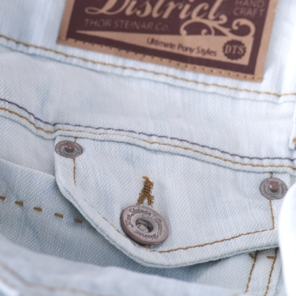 b35fda99baff Thor Steinar Dámské džíny Royen dunkelblau - Original Store