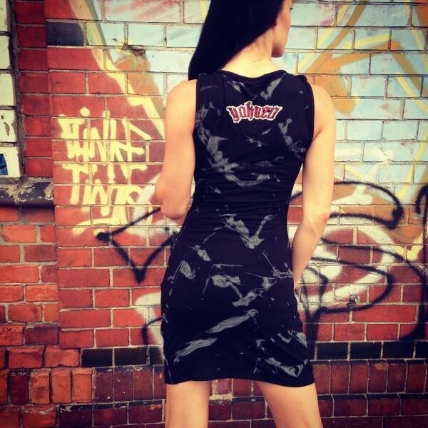 d68562c09861 Yakuza Dámské šaty YK GKL233 black - Original Store