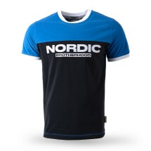 Tričko Nordic Brotherhood blue