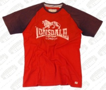 Triko LD Raglan Lion red